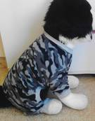 Dog PJ's Grey Camo